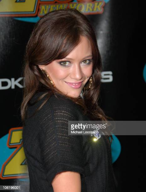 Hilary Duff during Z100's Zootopia 2007 - Press Room at Nassau Colliseum in New York City, New York, United States.