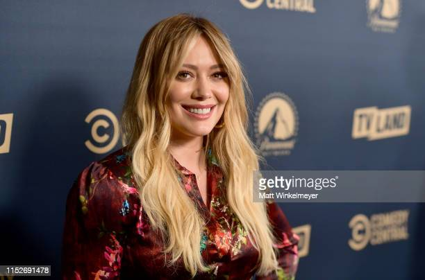 Hilary Duff from 'Younger' attends the Comedy Central, Paramount Network and TV Land summer press day at The London Hotel on May 30, 2019 in West...
