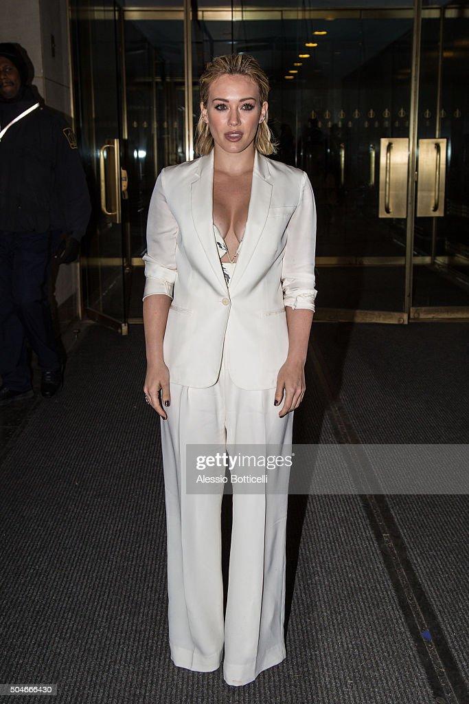 Celebrity Sightings in New York City - January 12, 2016 : News Photo