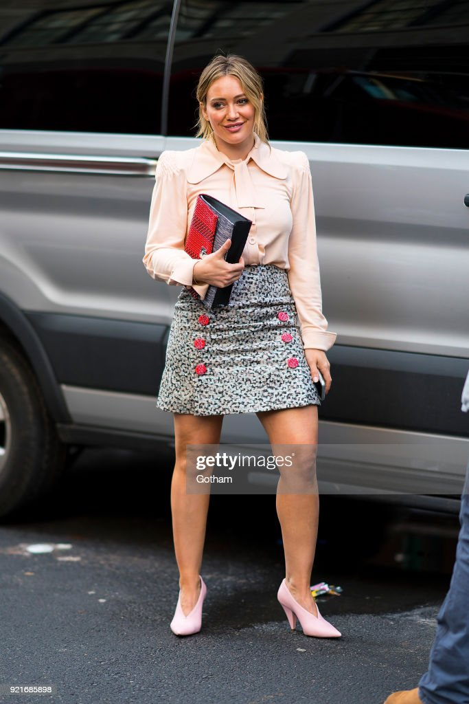Celebrity Sightings in New York City - February 20, 201 : Foto di attualità