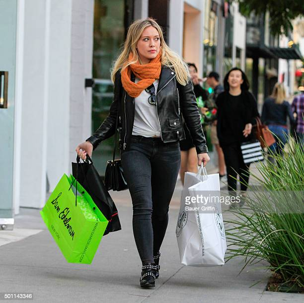 Hilary Duff is seen on December 12 2015 in Los Angeles California