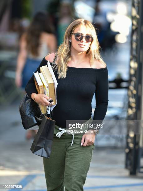 Hilary Duff is seen on July 26 2018 in Los Angeles California