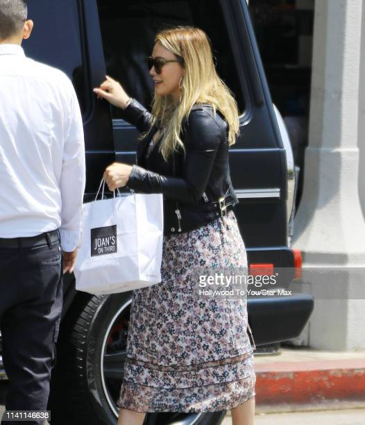 Hilary Duff is seen on May 4 2019 in Los Angeles California
