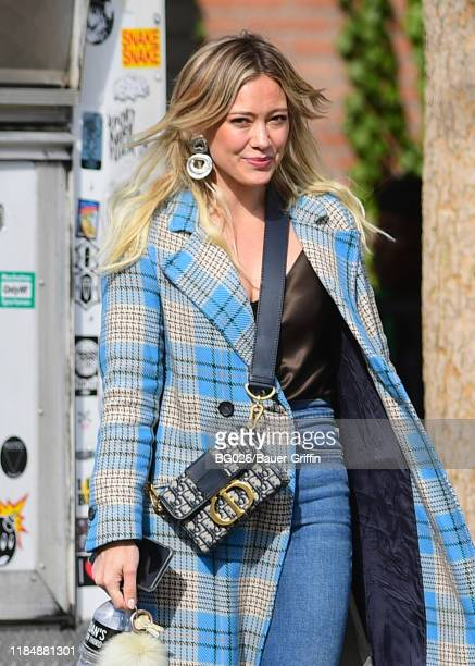 Hilary Duff is seen on November 26, 2019 in Los Angeles, California.