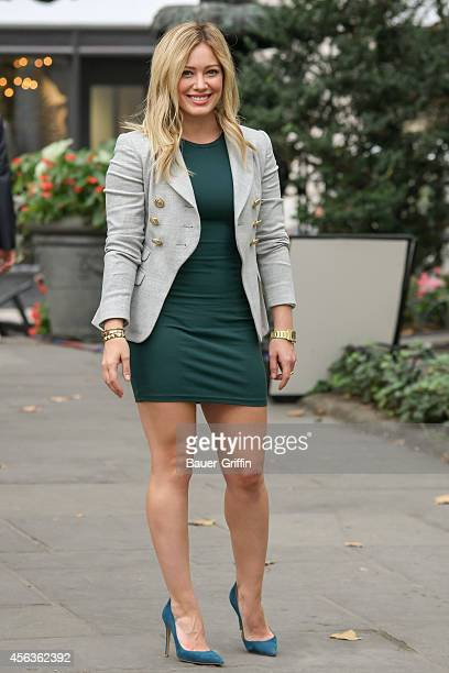 Hilary Duff on the set of 'Younger' on September 29 2014 in New York City