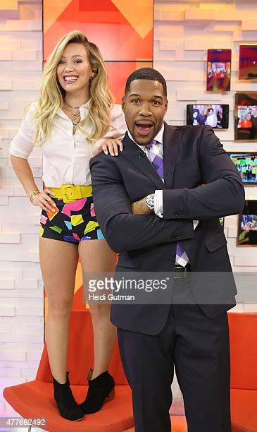 AMERICA Hilary Duff performs live on Good Morning America 6/16/15 airing on the ABC Television Network
