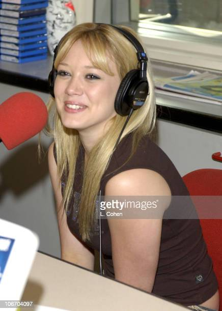 Hilary Duff star of the Disney Channel's Lizzie McGuire