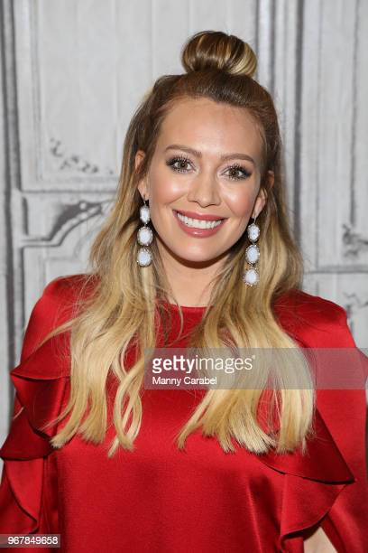 Hilary Duff visits Build Series to discuss the new season of the television series 'Younger' at Build Studio on June 5, 2018 in New York City.