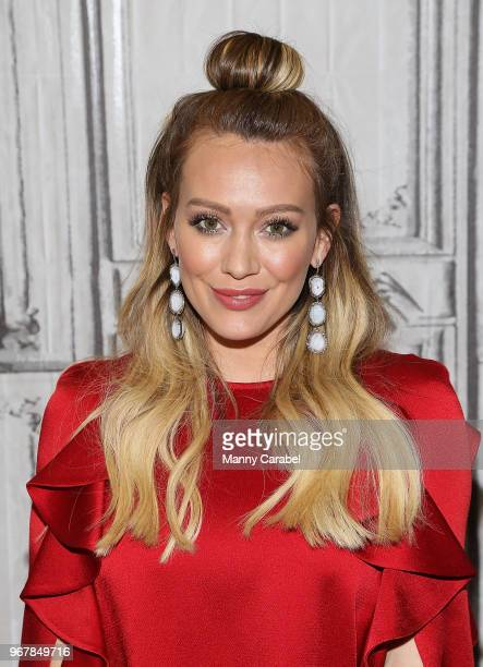 Hilary Duff visits Build Series to discuss the new season of the television series 'Younger' at Build Studio on June 5 2018 in New York City