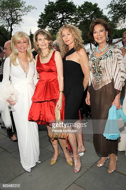 Hilary Geary Ross Allison Stern Susie Hayes and Margo Langenberg attend The Wildlife Conservation Society's SAFARI INDIA Gala at Central Park Zoo on...