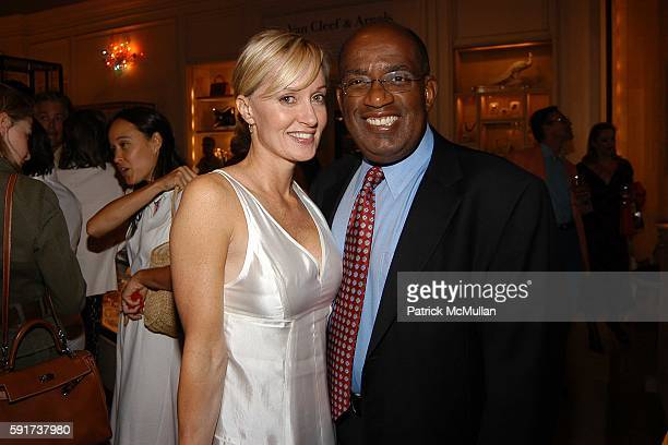 Hilary Gumbel and Al Roker attend Madonna Childrens Book Lotsa de Casha published by Callaway Arts and Entertainment at Bergdorf Goodman on June 7...
