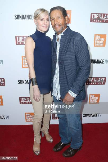 Hilary Gumbel and Bryant Gumbel attends the New York premiere of Top of the Lake China Girl at The Film Society of Lincoln Center Walter Reade...