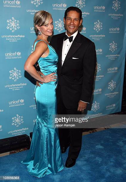 Hilary Gumbel and television personality Bryant Gumbel arrive to the 2007 UNICEF Snowflake Ball at Cipriani 42nd Street on November 27 2007 in New...