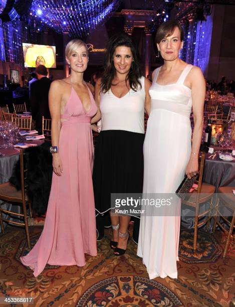 Hilary Gumbel Charlotte Blechman and Daniella Vitale attend The Ninth Annual UNICEF Snowflake Ball at Cipriani Wall Street on December 3 2013 in New...