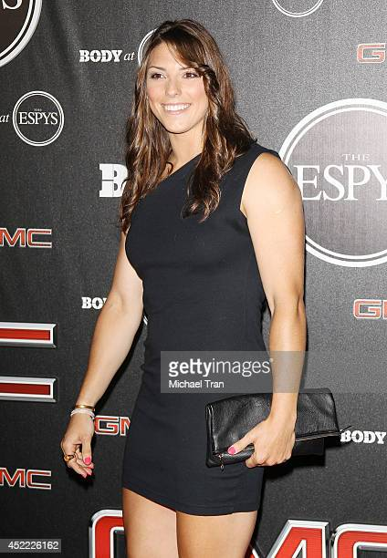 Hilary Knight arrives at the BODY at ESPYS PreParty held at Lure on July 15 2014 in Hollywood California
