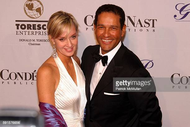Hilary Quinlan and Bryant Gumbel attend Denise Rich and The GP Foundation Host The Angel Ball 2005 at The New York Marriot Marquis on November 14...