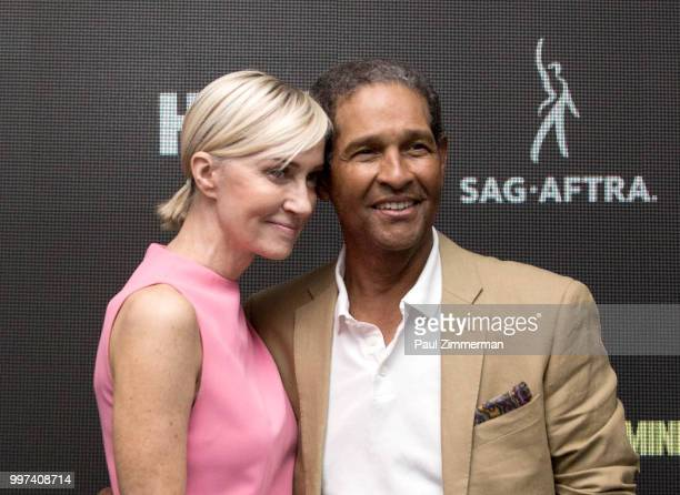 Hilary Quinlan and Bryant Gumbel attend Robin Williams Come Inside My Mind New York Premiere at SAGAFTRA Foundation Robin Williams Center on July 12...