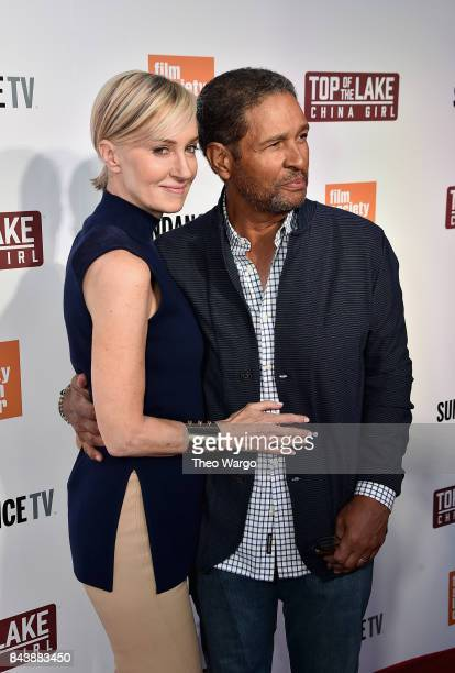 Hilary Quinlan and Bryant Gumbel attend Top Of The Lake China Girl Premiere at Walter Reade Theater on September 7 2017 in New York City