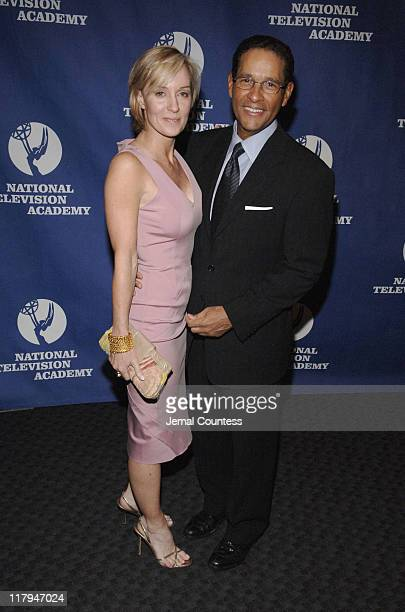 Hilary Quinlan and Bryant Gumbel during 26th Annual Sports Emmy Awards Arrivals at Frederick P Rose Hall at Jazz at Lincoln Center in New York City...