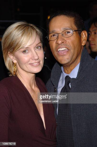 Hilary Quinlan and Bryant Gumbel during Kingdom of Heaven New York City Premiere Outside Arrivals at Clearview's Ziegfield Theater in New York City...