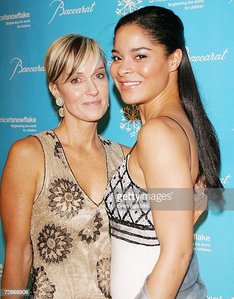 Hilary Quinlan and stepdaughter Jillian Gumbel attend the Third Annual UNICEF Snowflake Ball at Cipriani's 42nd Street November 28 2006 in New York...