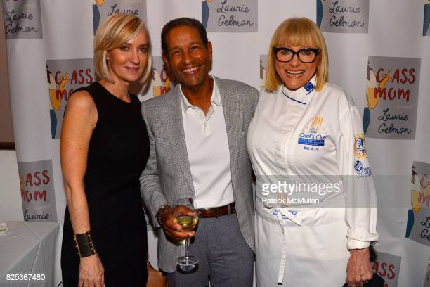 Hilary Quinlan Bryant Gumbel and Maria Loi attend Michael Gelman Celebrates The Launch Of CLASS MOM A Novel By Laurie Gelman at Loi Estiatorio on...