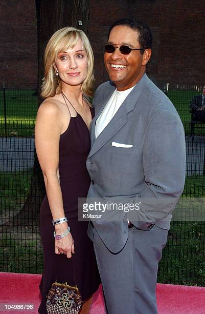 Hilary Quinlan fiance Bryant Gumbel during HBO's Sex and the City Fifth Season World Premiere at American Museum of Natural History in New York City...
