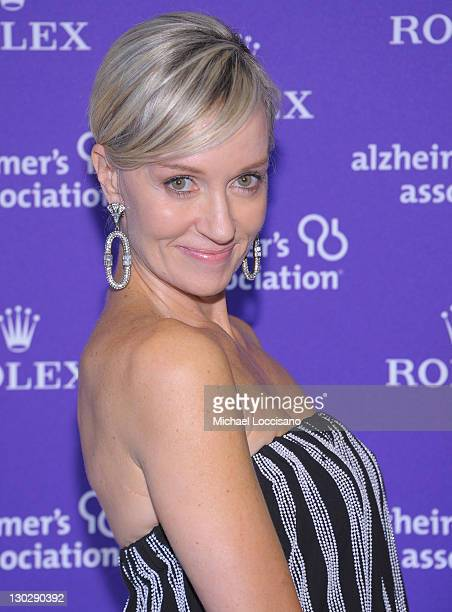 Hilary Quinlan Gumbel attends the 2011 Rita Hayworth Gala at The Waldorf=Astoria on October 25 2011 in New York City