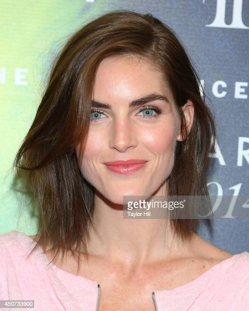 Hilary Rhoda attends 2014 Fragrance Foundation awards at Alice Tully Hall Lincoln Center on June 16 2014 in New York City