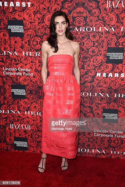 Hilary Rhoda attends 'An Evening Honoring Carolina Herrera' at Alice Tully Hall at Lincoln Center on December 6 2016 in New York City