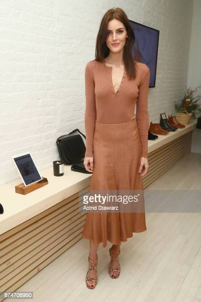Hilary Rhoda attends Dinner to Celebrate Jenni Kaynes Tribeca Boutique with Amy Astley and Meredith Melling at 20 Harrison Street on November 15 2017...