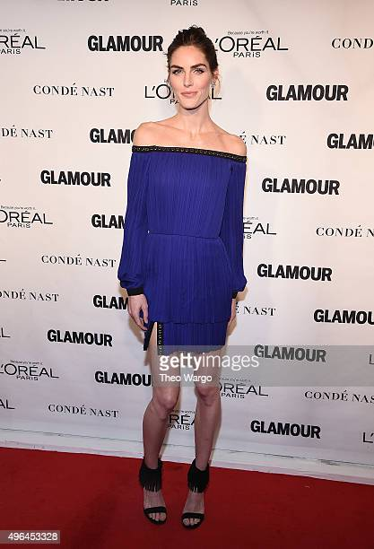 Hilary Rhoda attends Glamour's 25th Anniversary Women Of The Year Awards at Carnegie Hall on November 9, 2015 in New York City.