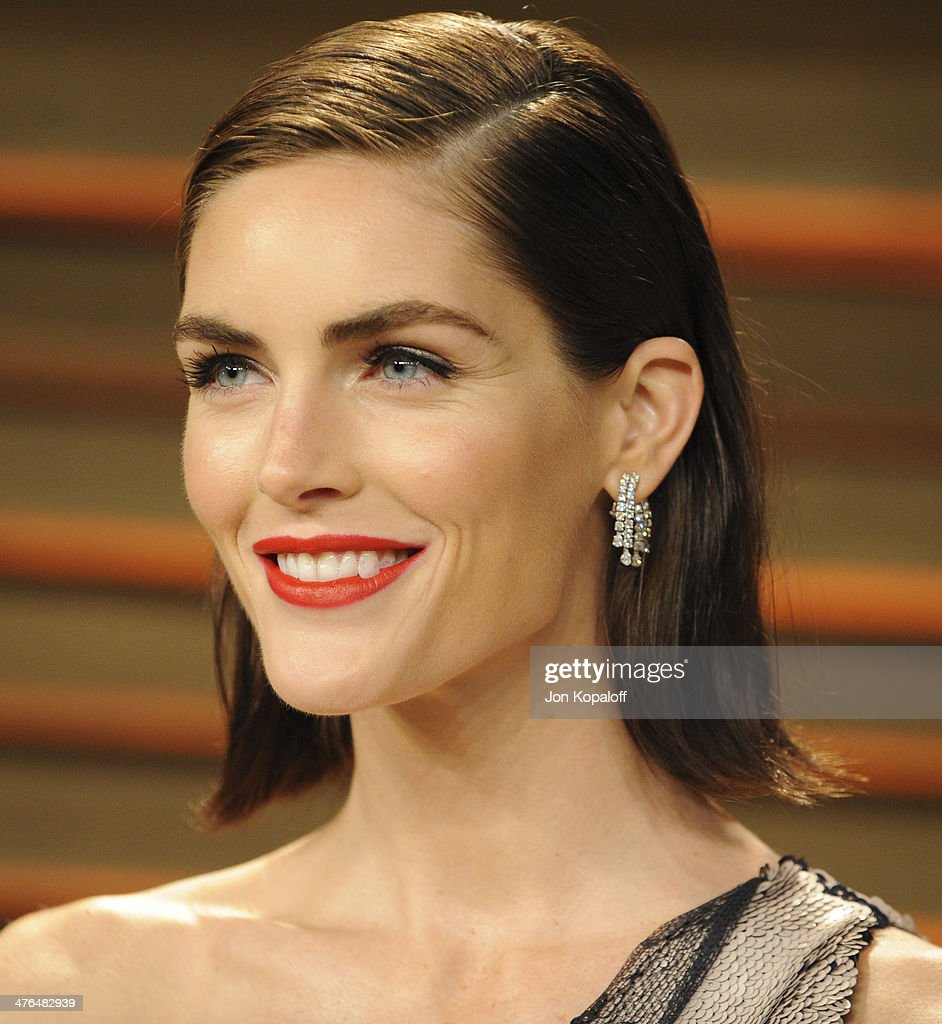 Hilary Rhoda attends the 2014 Vanity Fair Oscar Party hosted by Graydon Carter on March 2, 2014 in West Hollywood, California.