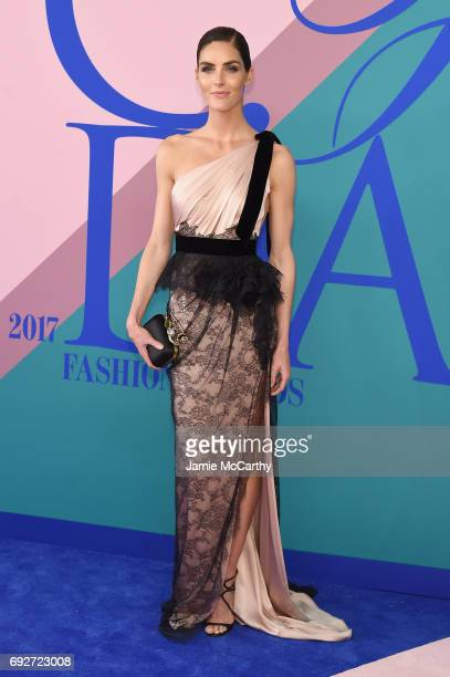 Hilary Rhoda attends the 2017 CFDA Fashion Awards at Hammerstein Ballroom on June 5 2017 in New York City