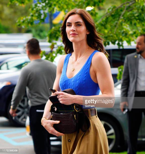 Hilary Rhoda attends the 2019 US Open Men's finals on September 08, 2019 in New York City.