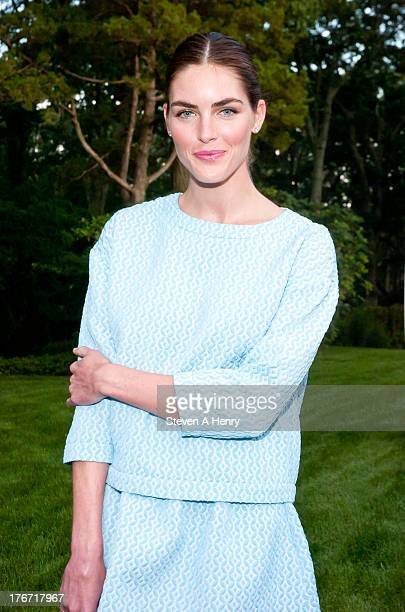 Hilary Rhoda attends the 2nd annual Paddle Party for Pink on August 17 2013 in Sag Harbor New York