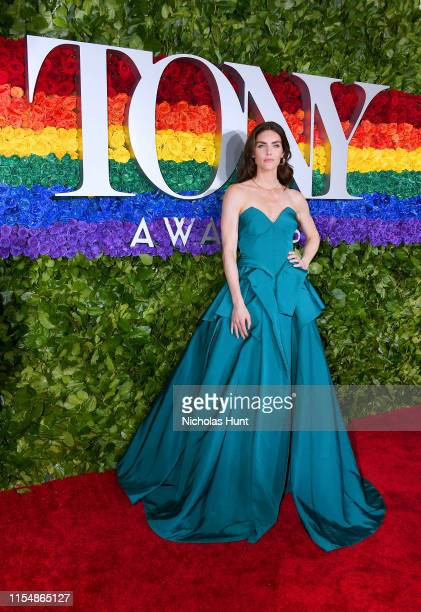 Hilary Rhoda attends the 73rd Annual Tony Awards at Radio City Music Hall on June 09 2019 in New York City