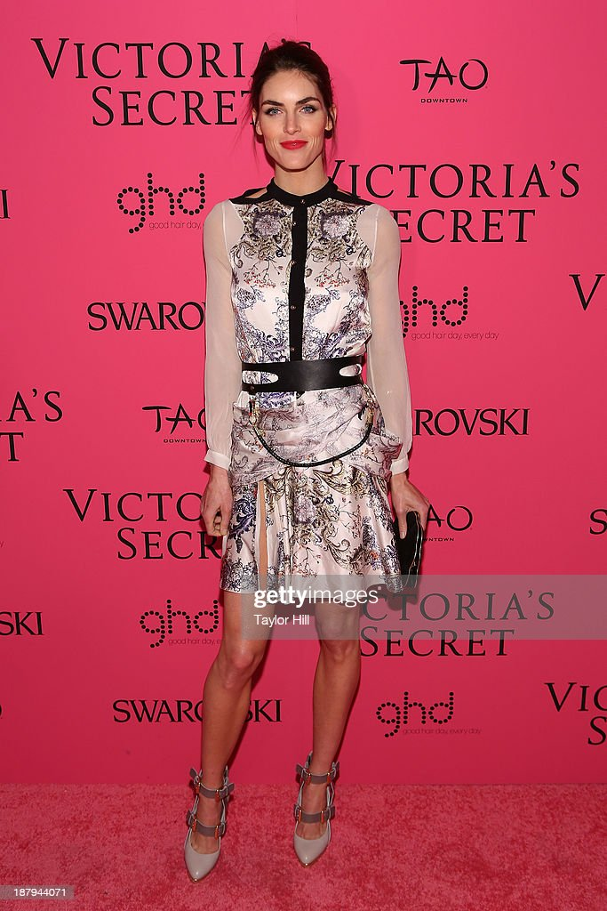 Hilary Rhoda attends the after party for the 2013 Victoria's Secret Fashion Show at TAO Downtown on November 13, 2013 in New York City.