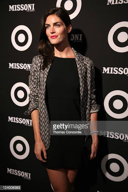 Hilary Rhoda attends the Missoni for Target Private Launch Event on September 7 2011 in New York City