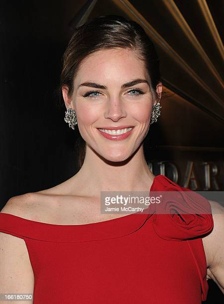 Hilary Rhoda attends the New Yorker's For Children's 10th Anniversary A Fool's Fete Spring Dance at Mandarin Oriental Hotel on April 9 2013 in New...
