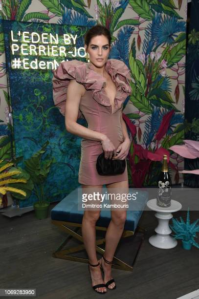 Hilary Rhoda attends Vladimir Restoin Roitfeld And Hilary Rhoda Attend L'Eden By PerrierJouet To Celebrate Launch Of CR WOMEN 2019 at Faena Beach on...