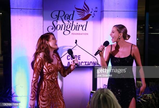 """Hilary Roberts and Ashley Wahler attend a private event with the cast of MTV's """"The Hills"""" hosted by Cure Addiction Now & The Red Songbird Foundation..."""