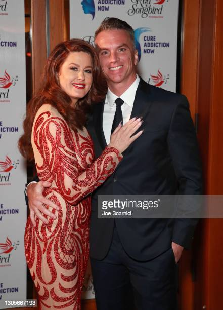 """Hilary Roberts and Gregory White attend a private event with the cast of MTV's """"The Hills"""" hosted by Cure Addiction Now & The Red Songbird Foundation..."""