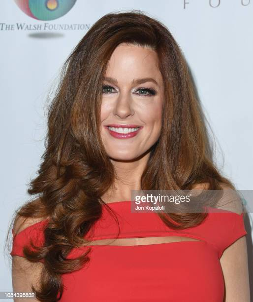 Hilary Roberts attends Peggy Albrecht Friendly House's 29th Annual Awards Luncheon at The Beverly Hilton Hotel on October 27 2018 in Beverly Hills...