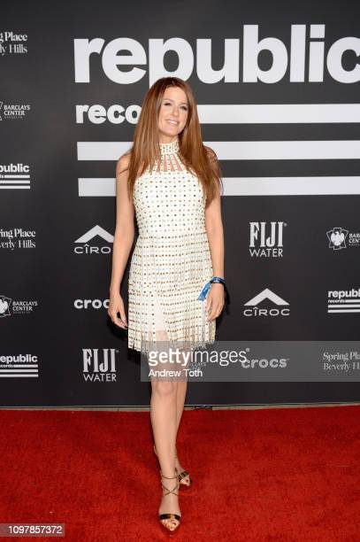 Hilary Roberts attends Republic Records Grammy after party at Spring Place Beverly Hills on February 10 2019 in Beverly Hills California