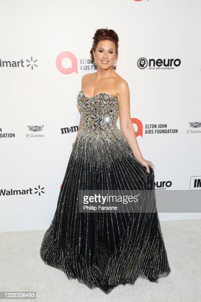 Hilary Roberts attends the 28th Annual Elton John AIDS Foundation Academy Awards Viewing Party Sponsored By IMDb, Neuro Drinks And Walmart on...