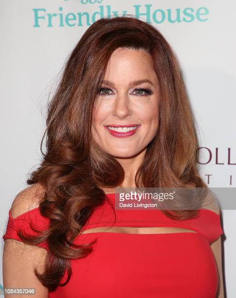 Hilary Roberts attends the Peggy Albrecht Friendly House's 29th Annual Awards Luncheon at The Beverly Hilton Hotel on October 27 2018 in Beverly...