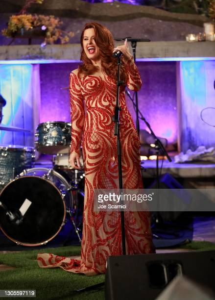 """Hilary Roberts speaks during a private event with the cast of MTV's """"The Hills"""" hosted by Cure Addiction Now & The Red Songbird Foundation on March..."""