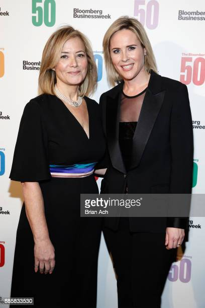 Hilary Rosen and Bloomberg Businessweek Editor in Chief Megan Murphy attend The Bloomberg 50 Celebration at Gotham Hall on December 4 2017 in New...