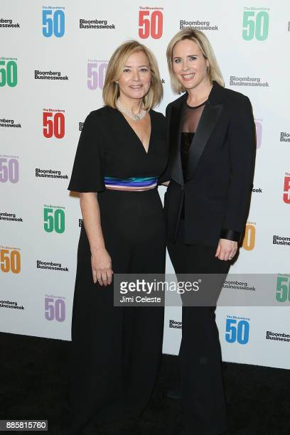 Hilary Rosen and Megan Murphy attend The Bloomberg 50 celebration at Gotham Hall on December 4 2017 in New York City